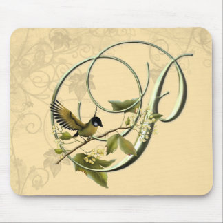Songbird Initial P Mouse Pad
