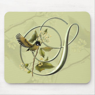 Songbird Initial S Mouse Pad