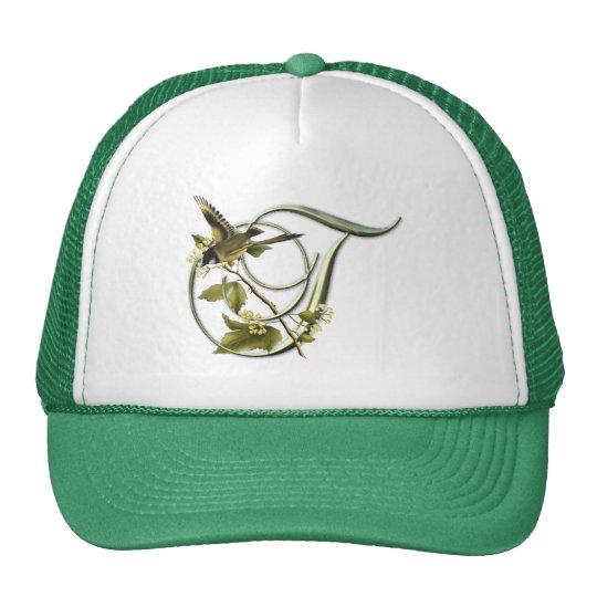 Songbird Initial T Trucker Hat