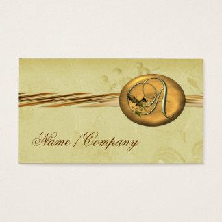 Songbird Initials A Business Card