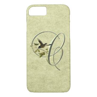 Songbird Initials C iPhone 7 Case
