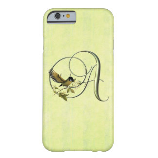Songbird Initials S Barely There iPhone 6 Case