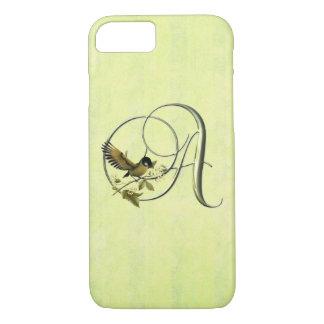 Songbird Initials S iPhone 7 Case