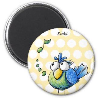 Songbird 2 Inch Round Magnet