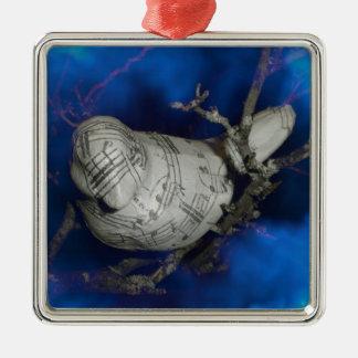 Songbird Metal Ornament