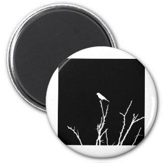 Songbird Night 2 Inch Round Magnet