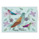 Songbird Passover Wish Greeting Cards