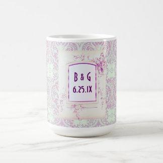 Songbird Shabby Chic WEDDING Gift Mug