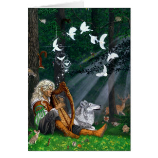 Songbirds Greeting Cards