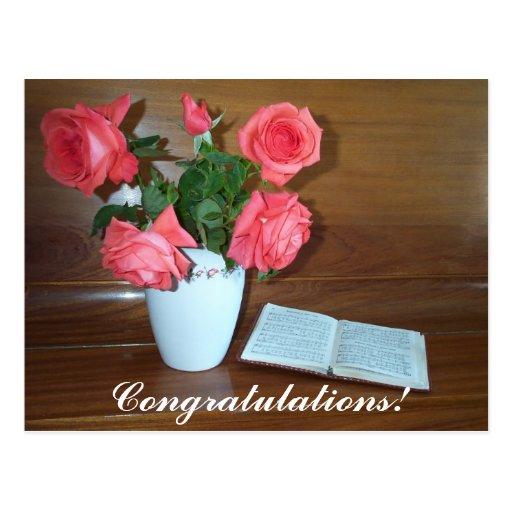 Songbook, Congratulations! Postcard