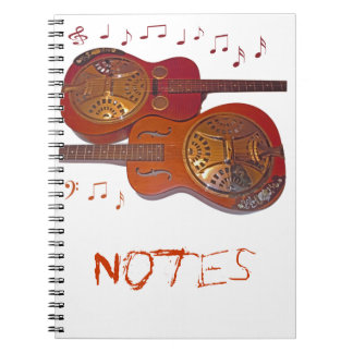 songbook notes spiral notebook