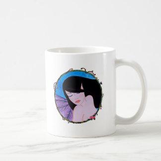 Songe d'une nuit d'été classic white coffee mug