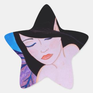 Songe d'une nuit d'été star sticker