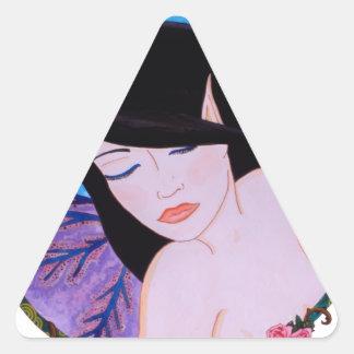 Songe d'une nuit d'été triangle sticker