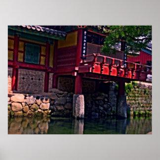 Songgwangsa Temple, South Korea Poster