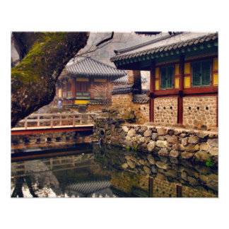 Songgwangsa Temple, Suncheon, South Korea Photo Print