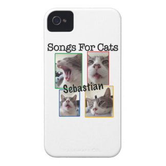 Songs For Cats - Sebastian iPhone 4/4S Case