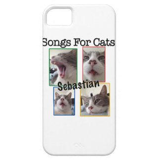 Songs For Cats - Sebastian iPhone 5 Case