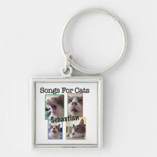 Songs For Cats - Sebastian Key Chain
