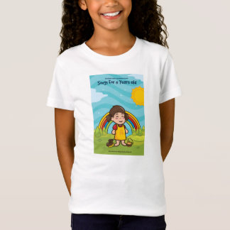Songs for five year olds T Shirt for girls