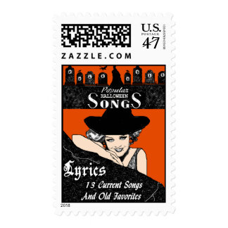 Songs for Halloween Postage