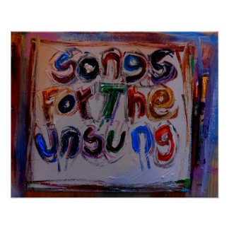 songs for the unsung posters