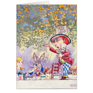 Songs From Alice: A Mad Tea Party Card