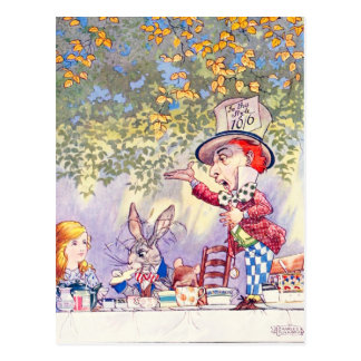 Songs From Alice: A Mad Tea Party Postcard