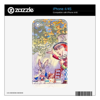 Songs From Alice: A Mad Tea Party Decals For The iPhone 4