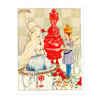 Songs From Alice: The Fish Riddle Postcard