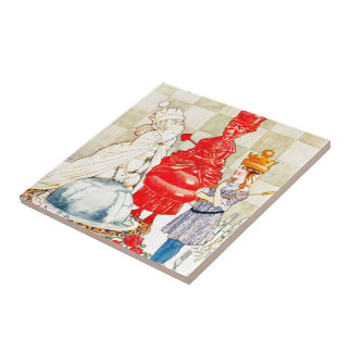 Songs From Alice: The Fish Riddle Ceramic Tiles
