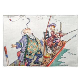 Songs From Alice: Yet You Balance an Eel Cloth Place Mat