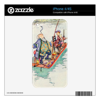 Songs From Alice: Yet You Balance an Eel iPhone 4S Skin