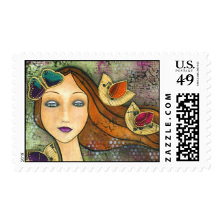 Songs of Courage Postage Stamp