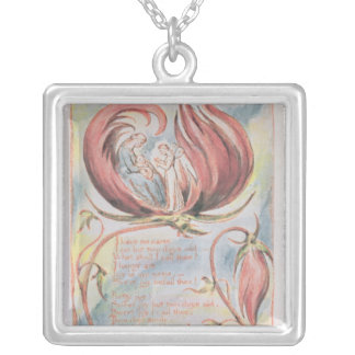 Songs of Innocence; Infant Joy, 1789 Silver Plated Necklace