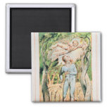 """Songs of Innocence; """"the Piper"""" , 1789 Refrigerator Magnets"""