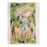 """Songs of Innocence; """"the Piper"""" , 1789 Postcard"""