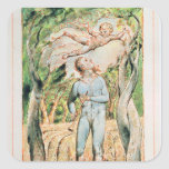 """Songs of Innocence; """"the Piper"""" , 1789 Square Sticker"""