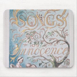 Songs of Innocence; Title Page, 1789 Mouse Pad