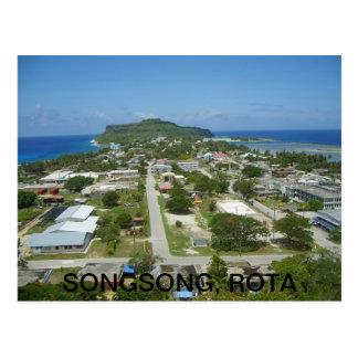 Songsong, Rota Postcard