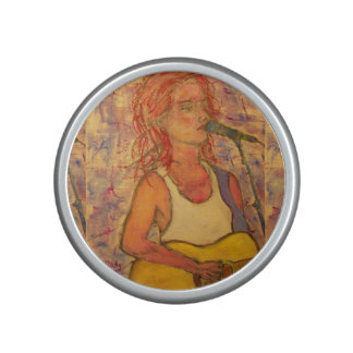 songstress art bluetooth speaker