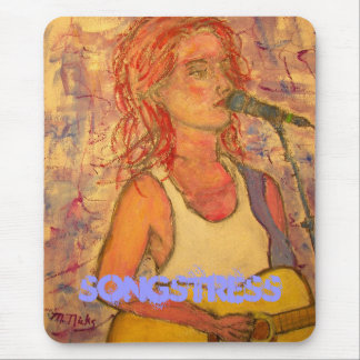 songstress mouse pad