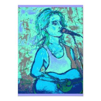 songstress screenprint look card