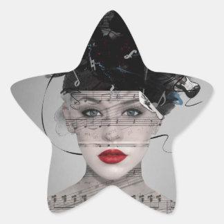 Songwriter Star Sticker