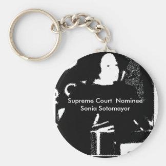 Sonia Sotomayor Supreme Court  Nominee Keychain