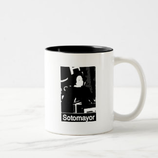 Sonia Sotomayor Supreme Court  Nominee Two-Tone Coffee Mug