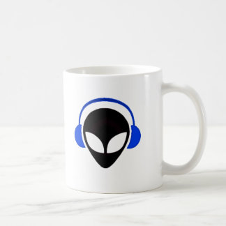 Sonic Alien Logo Coffee Mug