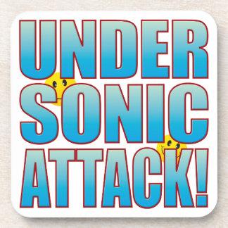 Sonic Attack Life B Beverage Coaster