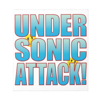 Sonic Attack Life B Notepad