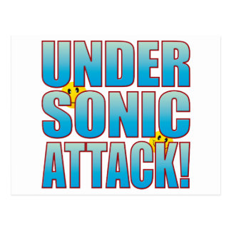 Sonic Attack Life B Postcard